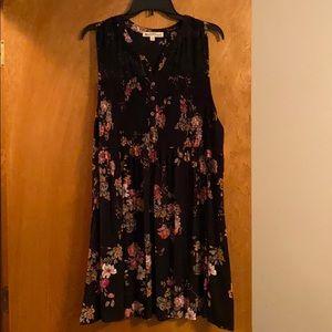 Wallflower tank dress size 1X NWT